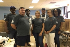 YMA Working at the Soup Kitchen